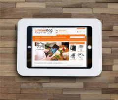armourdog® Wall mounted LocPad anti-theft tablet kiosk